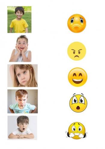 dopasuj emocje